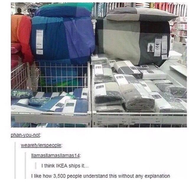 IKEA ships it, BBC ships it, Tyler Oakley ships it, the list goes on…