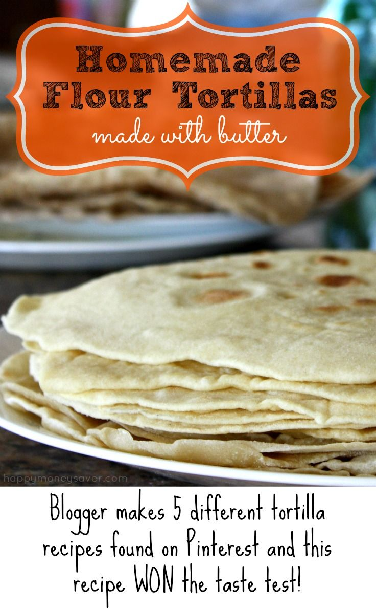 Tested 5 Homemade Flour Tortilla Recipes to see which way is the best. A Homemade Tortilla test like no other online. See the winner in this post!