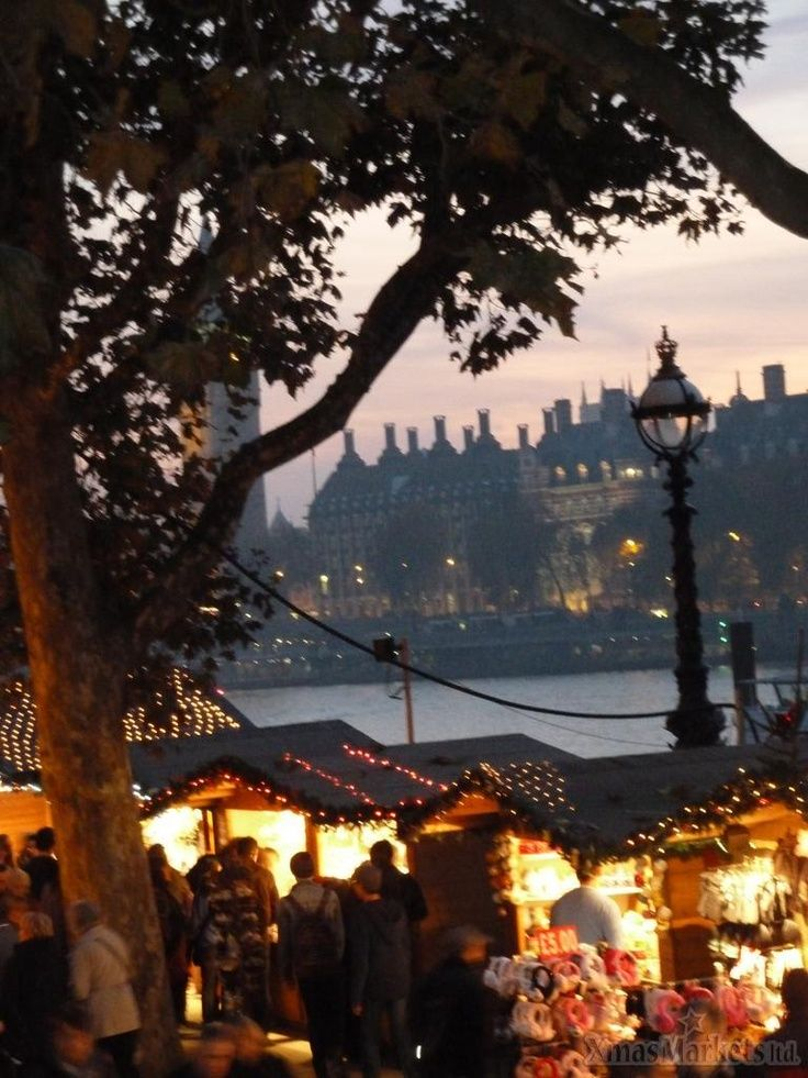~ Southbank Centre Christmas Market ~ London ~ England ~