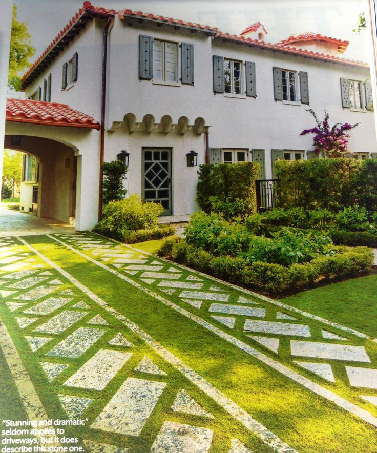 Home Driveway Design Ideas: 201 Best Images About G -Pavers And Walkways On Pinterest