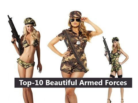Top-10 Countries With Most Beautiful Armed Force In The World