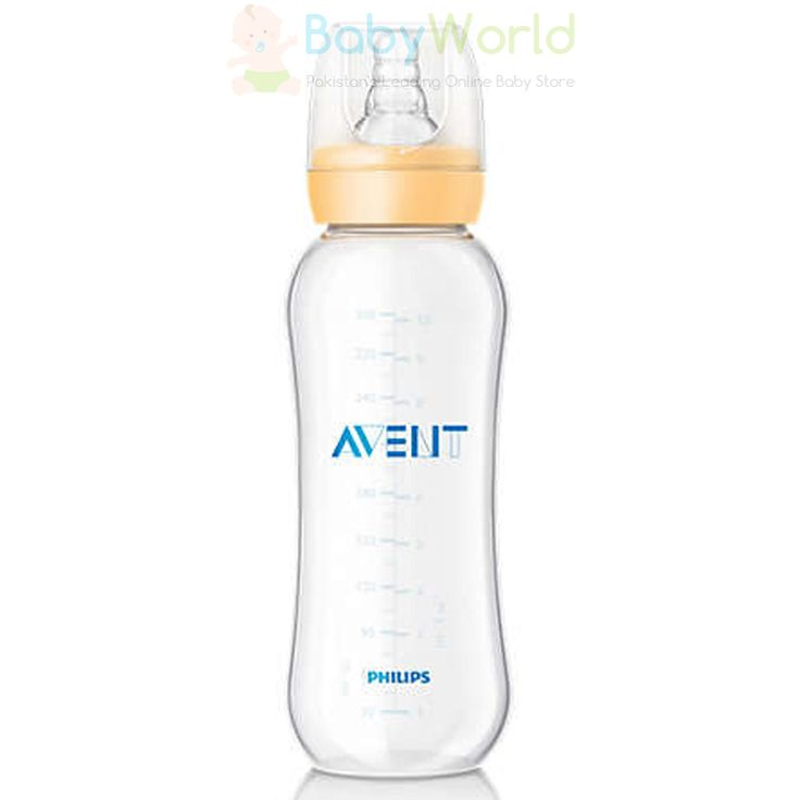 Philips Avent Standard Neck Bottle 300ml Pk1 ₨ 1,200  For order > http://babyworld.pk/feeding/2488-philips-avent-standard-neck-bottle-300ml-pk1.html