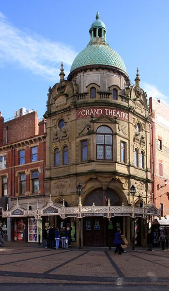 We like the #Blackpool Grand Theatre.