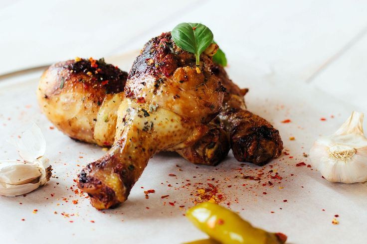 Five-spice roast chicken drumsticks