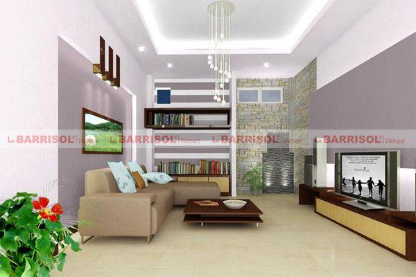 Nguyên tắc phong thủy trong trang trí trần nhà