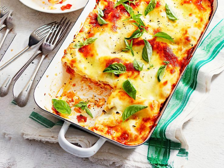 RICCOTTA & SALAMI LASAGNE - At only $4.20 per serve, this wonderfully comforting ricotta and salami lasagne recipe is perfect for the whole family to enjoy for a delicious weeknight meal