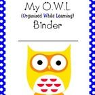 This is a one page document. Can be used for homework/take home folder cover page. Great for a classroom with a polka dot theme or owl theme. If yo...