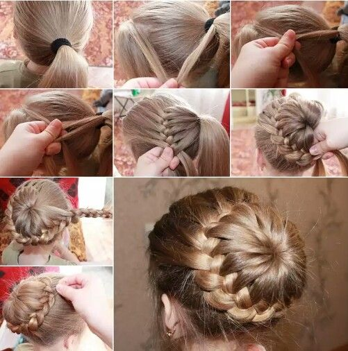 Are you looking for a new hairstyle? We have an awesome tutorial for you- DIY braid around a ponytail. It looks very stylish and it is so easy to create it.  First step is to make a ponytail while leaving a triangular section of hair at front. Then start making a braid by taking tresses from the front hair and the ponytail and finish a curve. When the curve of the braid is finished keep on making the braid till the end of the hair left untied. Finally wrap and join this braid with the open…