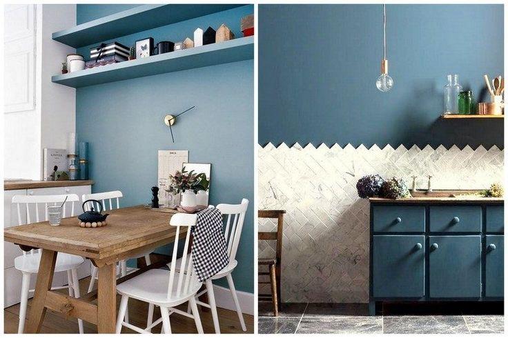 17 Meilleures Id Es Propos De Cuisine Bleu Canard Sur Pinterest Peinture Bleu Canard Bleu