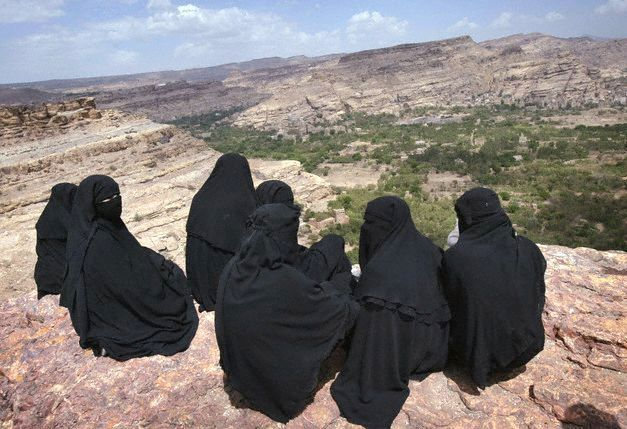 yemen women | In Yemen, girls face constant harassment, whether it is on the street ...