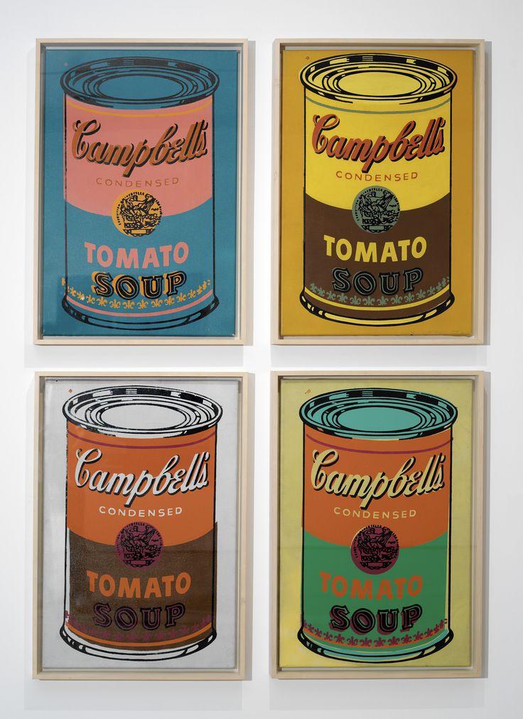 Google Image Result for http://departmentart.co.uk/wp-content/uploads/2009/10/18_Warhol_-_Four_Colored_Campbells_Soup_Can.jpg