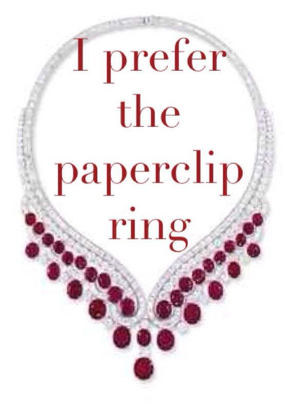 paperclip ring - Legend trilogy Just finished this trilogy over the past few days!! loved it so much :))