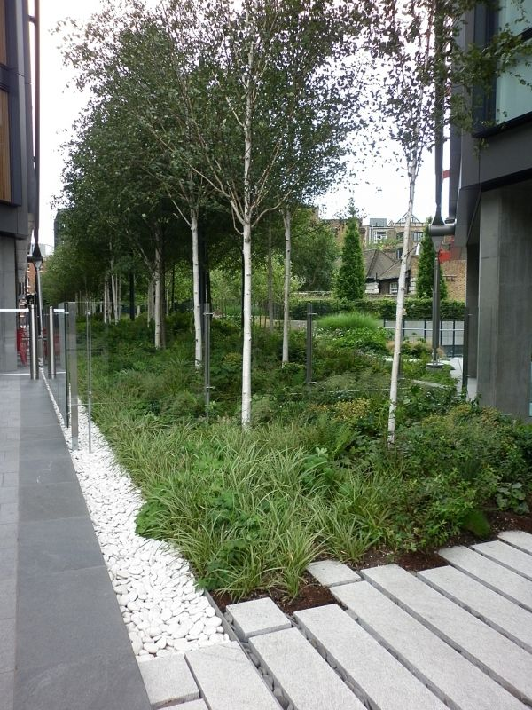 25 best ideas about commercial landscaping on pinterest for Landscape construction