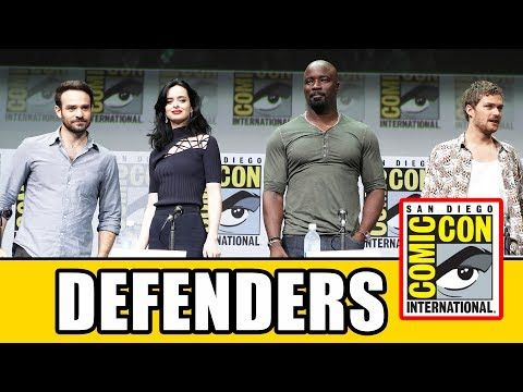 THE DEFENDERS Comic Con Panel News & Highlights - YouTube