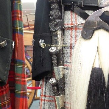 Balmoral Highlanders Uniform - King - Queen's Pipers Dirk