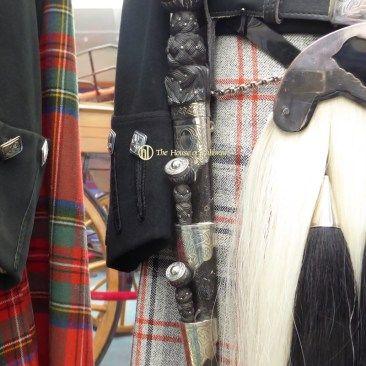 Balmoral Highlanders Uniform - King - Queen's Pipers Dirk