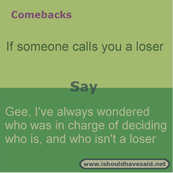 Comeback hater quotes