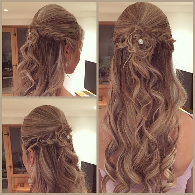 pretty girls hair styles 1000 ideas about sweet 15 hairstyles on side 5747 | c810946309add61e3740c91c59bc5747