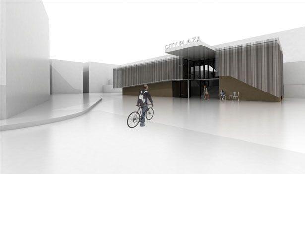 vanleth.nl - bike entrance