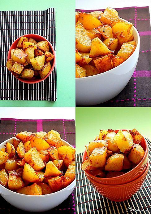 Πατάτες με παρμεζάνα