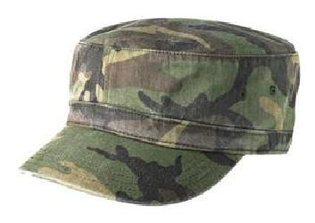 NEW UNISEX DISTRESSED MILITARY FIDEL CADET ARMY HAT CAP 100/% COTTON TWILL