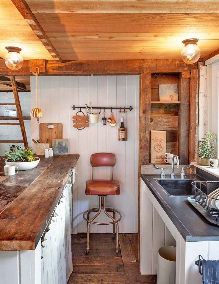 An Author's Cozy Guest Cabin in Minneapolis, MN, Design*Sponge
