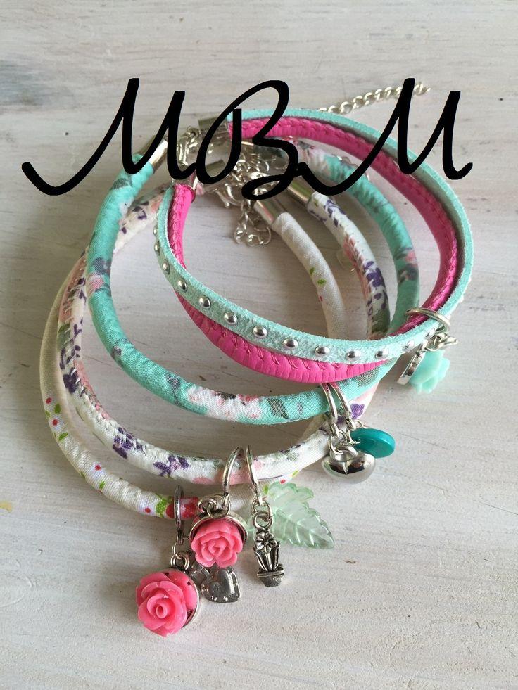 Armbanden die ik zelf maak