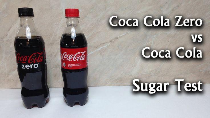 Coca Cola vs Coca Cola Zero - Sugar Test