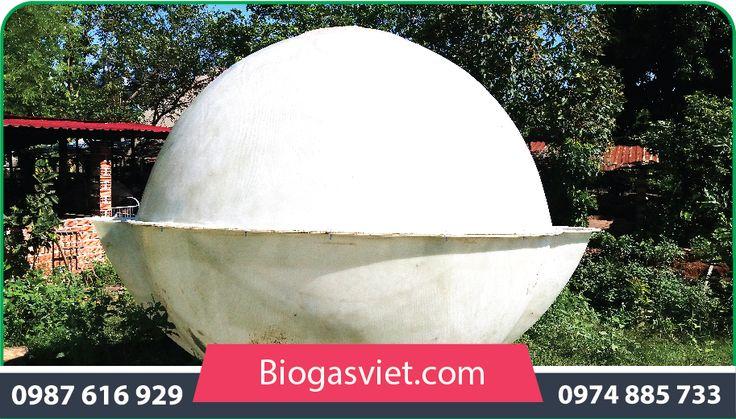 hầm biogas composite 2.25m hệ cải tiến chi phí thấp