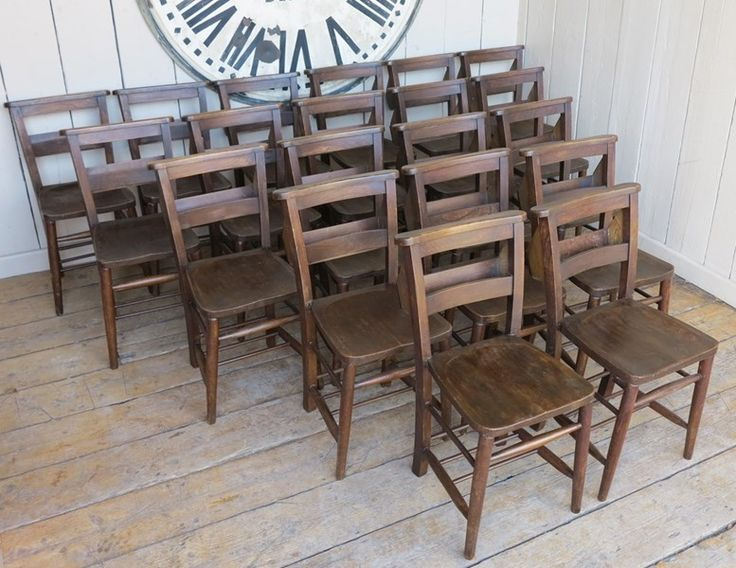 Reclaimed Old Antique Church Chairs in Dark Wood with Bible Backs Online &  For Sale in our shop, Reclaimed Chapel Vintage Stacking Chairs and Antiques. - 94 Best Chairs And Stools Images On Pinterest Benches, Bible And