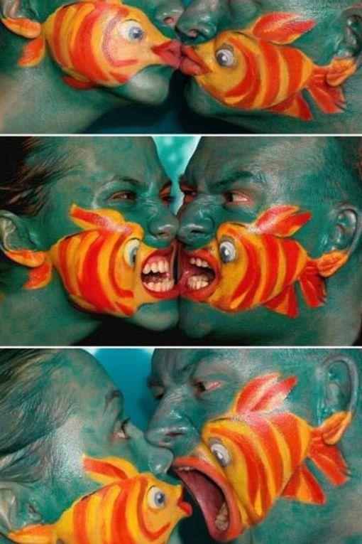 Kunstvolle Fische
