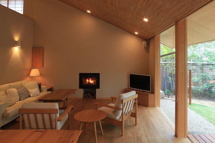 二軒の家(東の家)|横内敏人建築設計事務所                                                                                                                                                                                 もっと見る