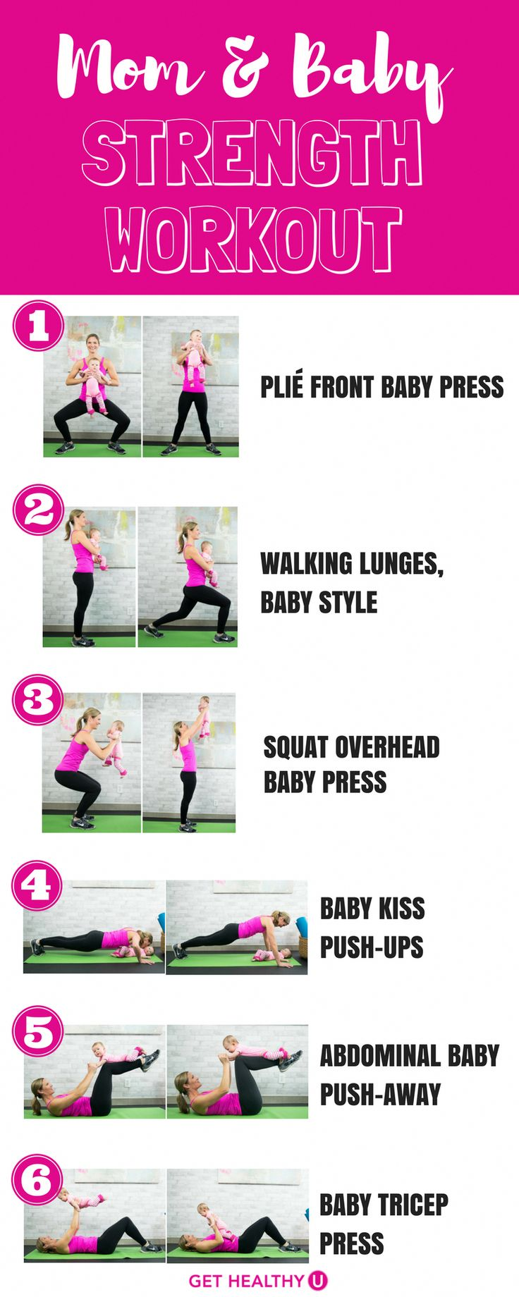 Many new mothers want to exercise after giving birth but ...