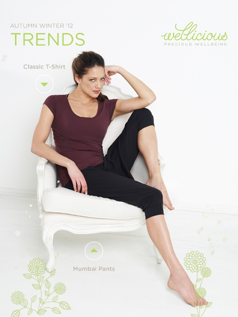 Enjoy the New Season, check out our Weekly Trend!    Classic T-Shirt > http://www.wellicious.com/gbren/classic-t-shirt.html  Mumbai Pants > http://www.wellicious.com/gbren/wellicious-mumbai-pants.html