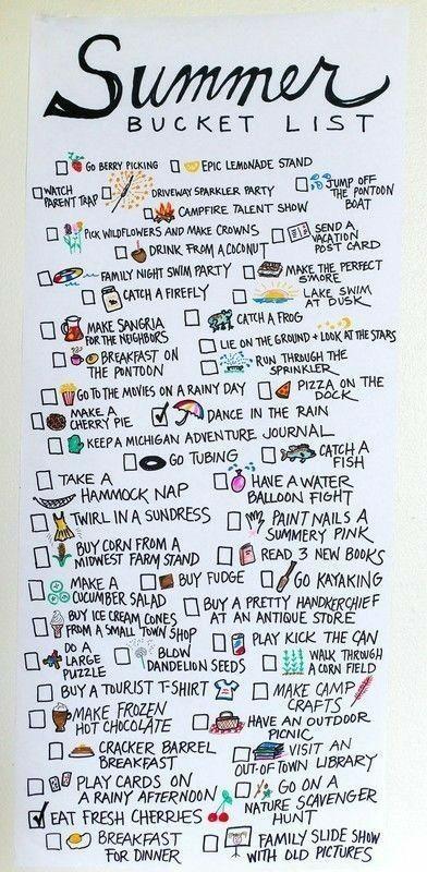 Haben Sie bereits eine Bucket-Liste erstellt und davon geträumt, was Sie in wel…