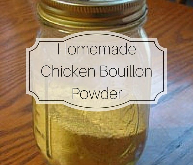 Homemade chicken bouillon powder recipe with images