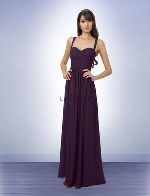 Bridesmaid Dress Style 769 - Bridesmaid Dresses by Bill Levkoff  --- romantic with an interesting back... might be too low-cut, though