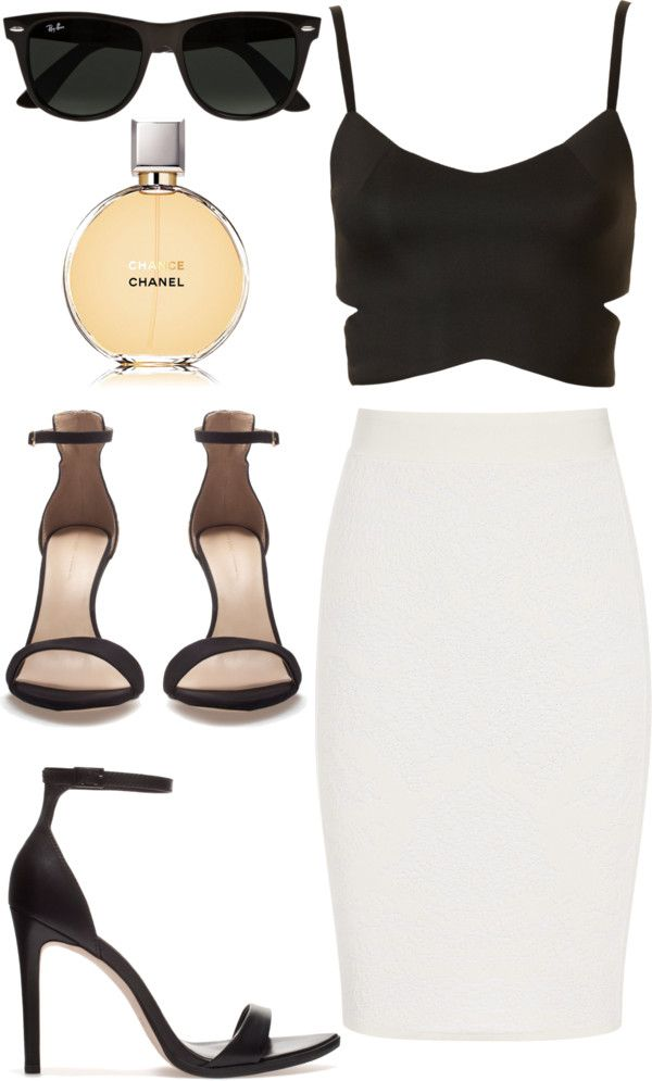This outfit is so sexy and classy at the same time... Perfect for summer and a fun night out!
