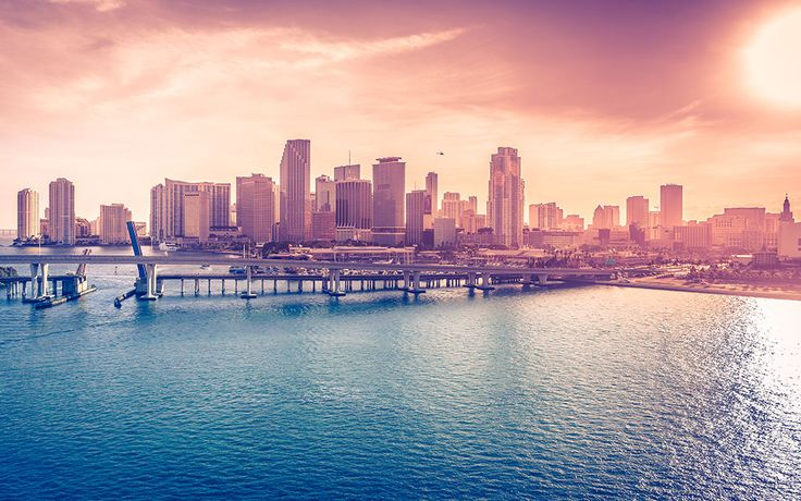 """""""Miami Downtown, Florida, USA"""" -- #wallpaper by """"martinkup.cz"""" from http://interfacelift.com -- Miami Downtown taken from the top deck of Carnival Victory Cruise Ship on February 2014.  Adobe Lightroom. -- Available as #wallpapers in any resolution at: http://interfacelift.com/wallpaper/details/3549/miami_downtown%2C_florida%2C_usa.html"""