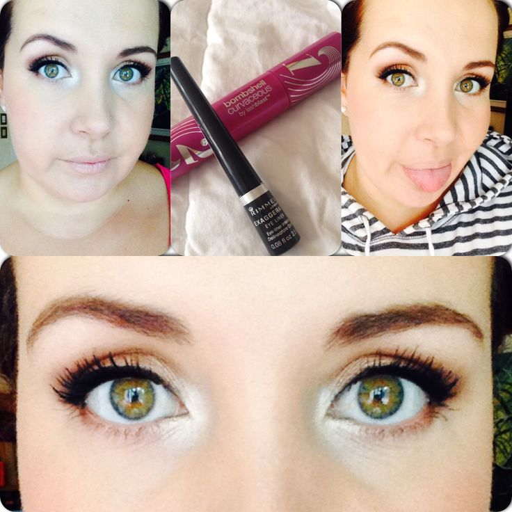 Easy everyday makeup look. Highlighting in your corner will give you a refreshed look
