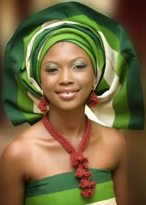 Mujer nigeriana