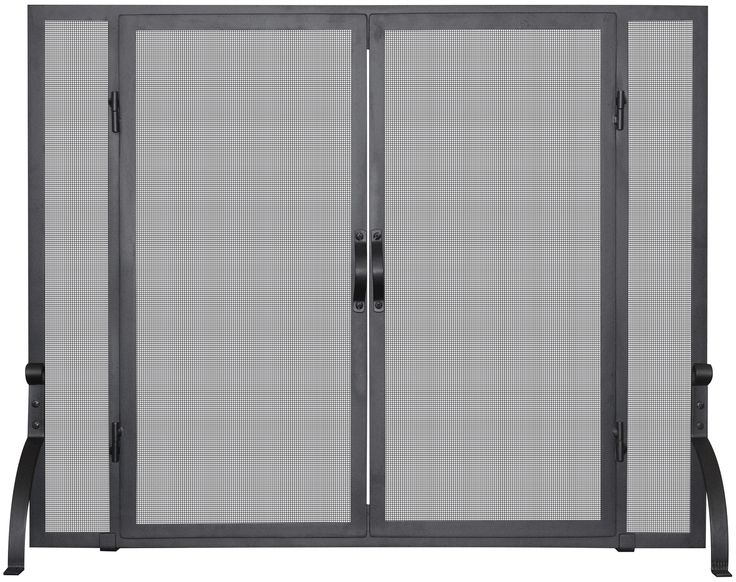 Uniflame 1 Panel Wrought Iron Fireplace Screen & Reviews | Wayfair