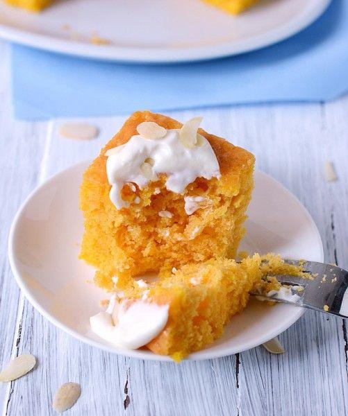 Инна - Тыквенный кекс с апельсиновым сиропом