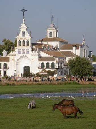 Ermita del Rocio   #Doñana  #Huelva   #España