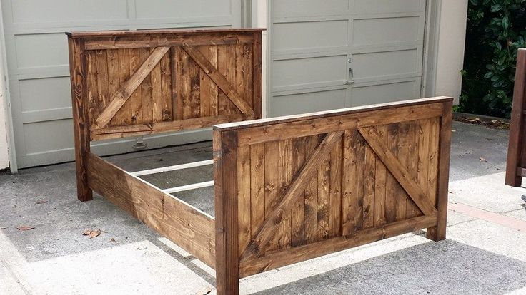 Barn Door Rustic Headboard will bring that country charm to the bedroom. All prices are the same for all sizes. You choose what color. Each piece is stained to perfection.