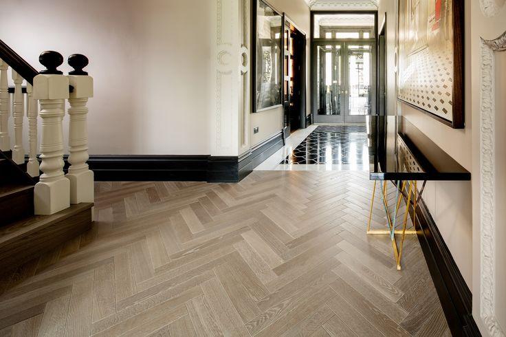 Hakwood flooring – European Oak – Colour Collection – Drift – Victorian family home - London, United Kingdom