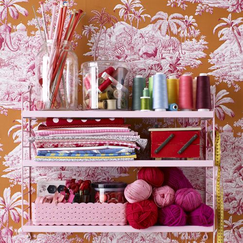String shelf by Nils Strinning | Storage ideas | Pinterest | String shelf, Shelves and String pocket
