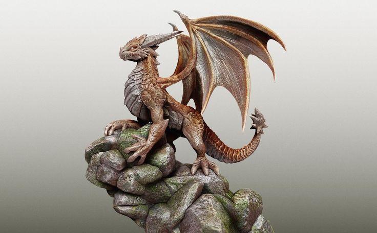 Dragon, Tulio Minaki on ArtStation at https://www.artstation.com/artwork/dragon-89ece03b-cee8-48bc-8211-6debe484c0b9