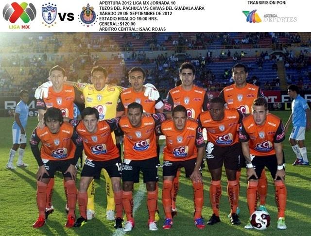 Próximo partido: Pachuca vs Chivas