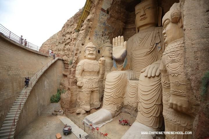 Spread of Buddhism- Statues of Buddha found along the Silk Road in China